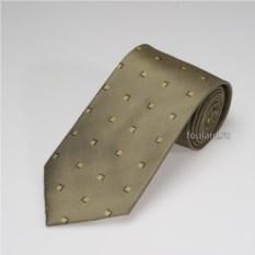 Шелковый галстук с геометрическим орнаментом Biagiotti Uomo