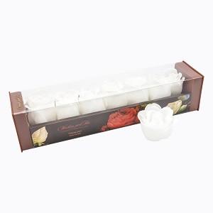 Мыло в форме бутонов розы «Парад белых роз»