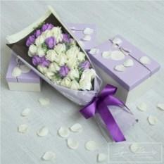 Спа-букет Kiss (цвет: фиолетовый)