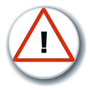 Значок «Внимание: восклицательный знак»