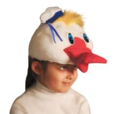 Карнавальная шапочка Утенок