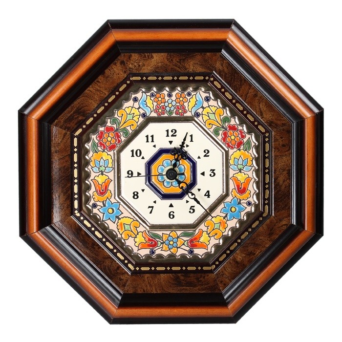 Часы настенные 8-ми угольные Cearco