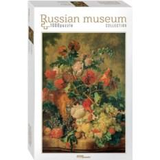 Пазл из 1000 деталей Цветы и плоды. Ян ван Хейсум