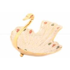 Ваза-фруктовница Лебедь