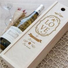 Коробка для вина Он и Она