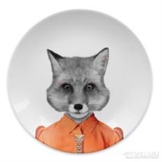 Обеденная тарелка Baby fox
