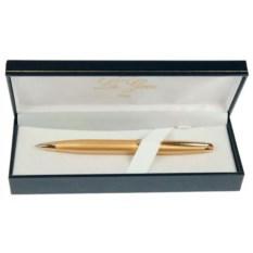 Желтая шариковая ручка La Geer