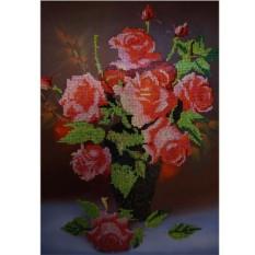 Алмазная вышивка «Букет роз»