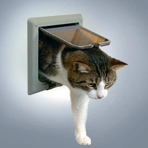 Дверца для кошек Trixie Grey (15,8 x 14,7см) на 4 позиции