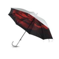 Полуавтоматический двухслойный зонт-трость Роза