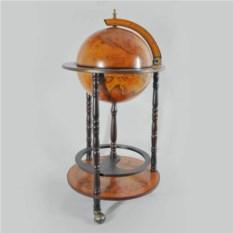 Подарочный напольный глобус-бар, диаметр 33 см