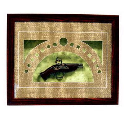 Панно «Пистолет»