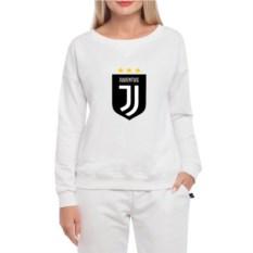 Белый женский свитшот Juventus