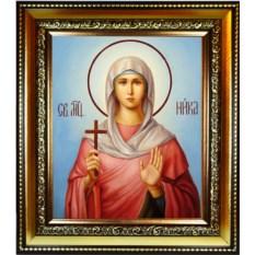 Икона на холсте Ника Коринфская Святая мученица