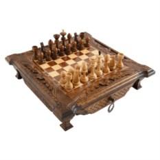 Резные шахматы в ларце Haleyan kh101