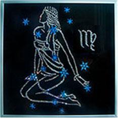Хрустальная картина «Звездная дева»