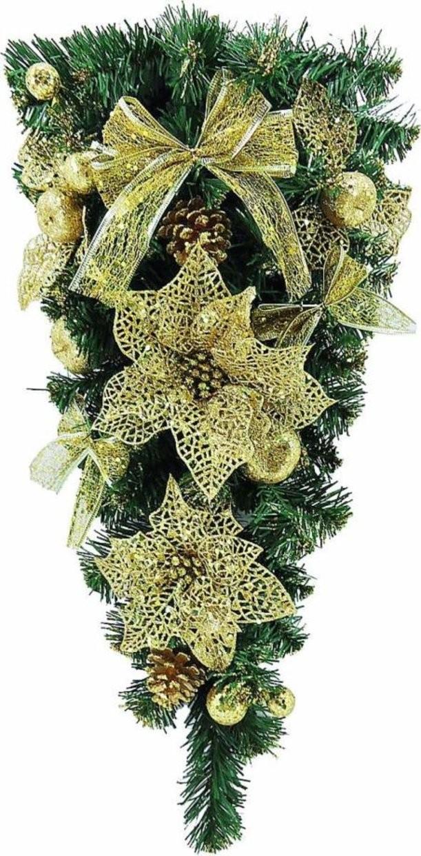 Новогоднее хвойное украшение Mister Christmas (60 см)