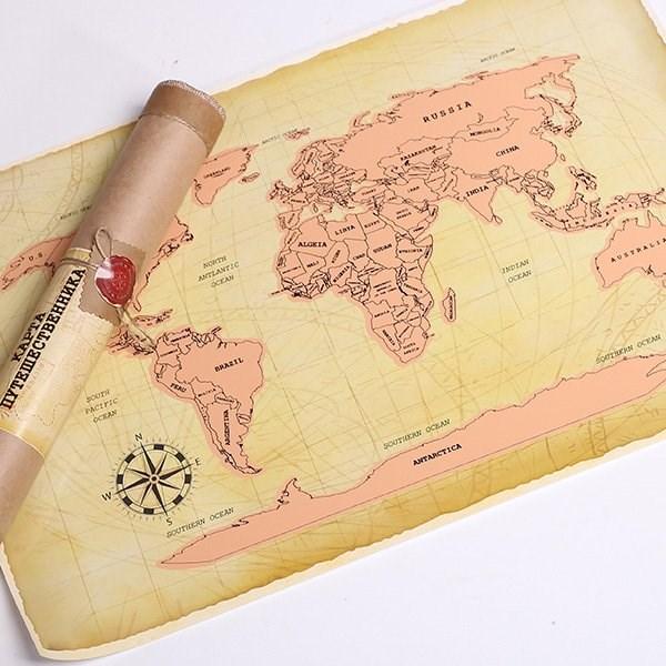 Карты мира открытки