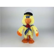 Механическая поющая и танцующая игрушка Петух с кепкой