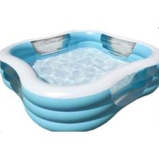 Детский бассейн с прозрачными элементами Intex