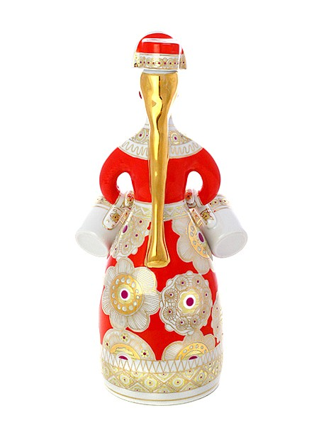 Подарочный набор для вина из 3 предметов Матрешка