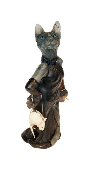 Камнерезная скульптура Сфинкс