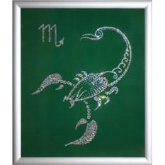 Картина Swarovski Скорпион