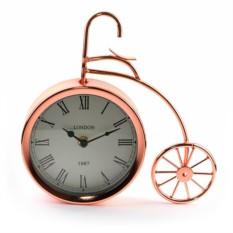 Настольные часы Велосипед (цвет — медный)