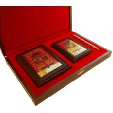 Подарочный набор Ежедневник, обложки на документы и ручка