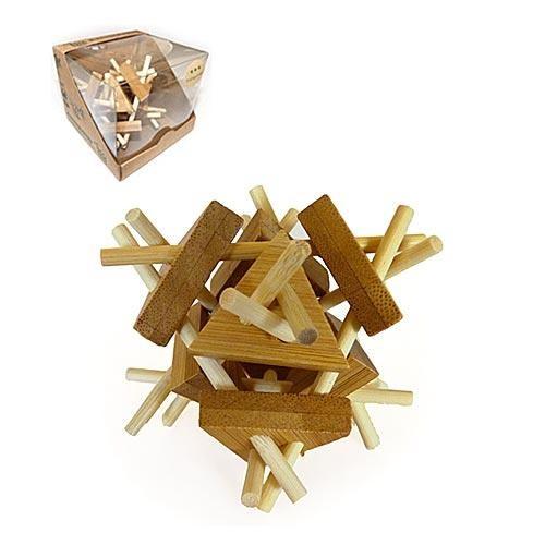 Головоломка из бамбука Triangulated