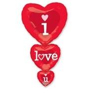 Фольгированный шар I Love You