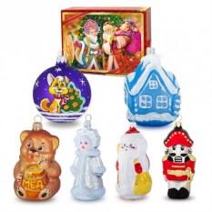 Набор ёлочных игрушек №5