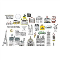 Наклейки декоративные My Paris