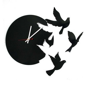 Настенные часы Летящие птицы