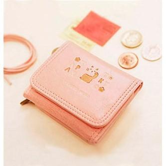 Мини-кошелёк Around the world - Baby pink