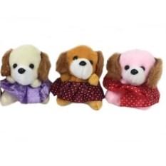 Мягкая игрушка-брелок Собачка в юбочке