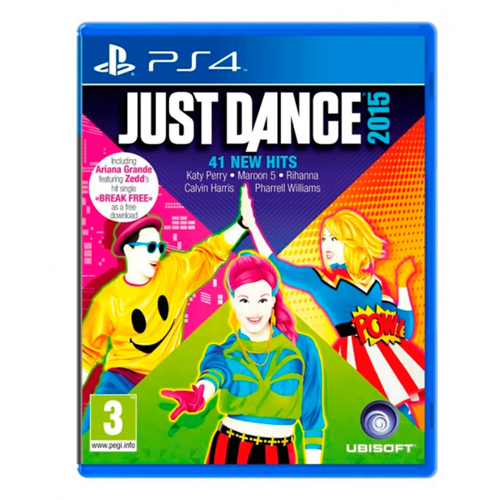 Игра для PS4 Just Dance 2015. Unlimited