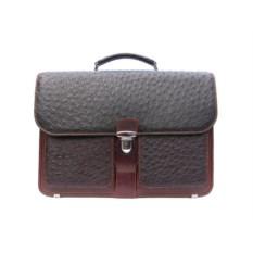 Мужской портфель из кожи страуса высшего качества