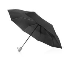 Черный зонт с автоматической системой
