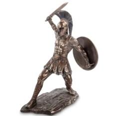Статуэтка Гектор с мечом и щитом