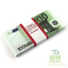 Блокнот Денежный (пачка 1000 евро)