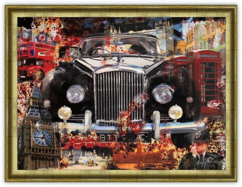 Постер Лондонский автомобиль (Арагон)