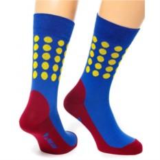 Васильковые носки Colour Step Friday