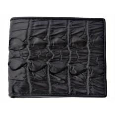 Мужской крокодиловый бумажник из кожи хвостового отдела