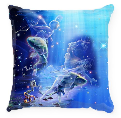 Подушка Знак зодиака-Рыбы