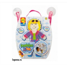 Набор фигурок-стикеров для ванны Одень куклу
