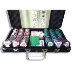 Набор для покера World Poker Tour на 300 фишек Lite