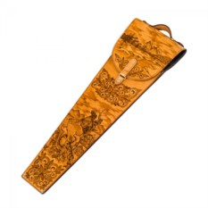 Подарочные шампура в колчане из натуральной кожи, 6 штук