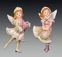 Ёлочная игрушкаДевочка в костюме ангела