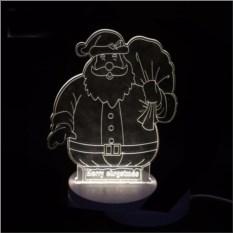 3D светильник Санта Клаус